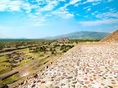 Ruins of Teotihuacan Mexico city , Mexico — Stock Photo