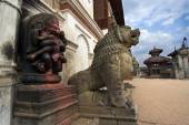 Bhaktapur Durbar square Nepal — Stock Photo