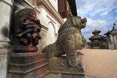 Bhaktapur Durbar square Nepal — Stock Photo