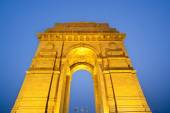 India gate Delhi — Stock Photo