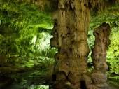 Cenote sotterraneo in Messico — Foto Stock