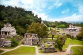 Mayan archaeological site of Palenque — Stock Photo