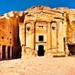 Urn tomb Petra Jordan — Stock Photo #66950799