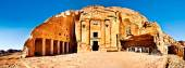 Urn tomb Petra Jordan — Stock Photo
