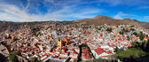 Panoramic cityscape of Guanajuato Mexico — Stock Photo