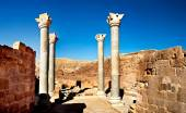 Jerash the roman old city in Petra Jordan — Stockfoto