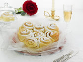 Gâteau rose — Photo