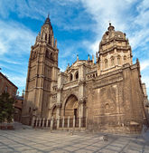Cathedral in Toledo Spain — Stock Photo