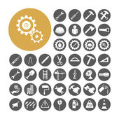 Engineer Icon set vector illustration. — Vector de stock