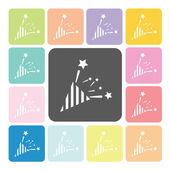 Firecrackers Icon color set vector illustration — Stock Vector
