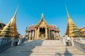 Phra Kaeo, Temple of the Emerald Buddha,Bangkok Thailand — Stockfoto