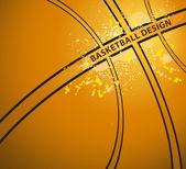 バスケット ボールのベクトル — ストックベクタ