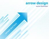 Pilen design — Stockvektor