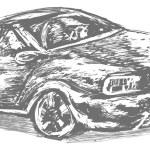 Car illustration — Stock Vector #58097681