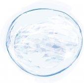 Painted bubble — Vetor de Stock