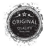 Original quality stamp — Stock Vector