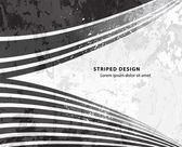 Grunge striped design — Stock Vector
