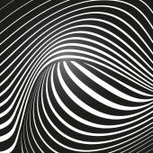 Optical effect — Stock Vector