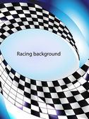 Racing background — Stock Vector