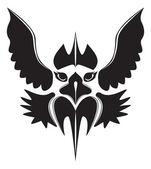 Vector owl icon — Stock Vector