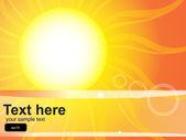 Sunshine background — Stock Vector