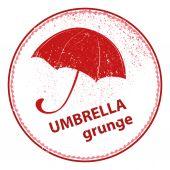 Umbrella illustration — Stock Vector