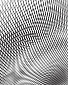 Optical art background black and white vector — Stock Photo