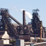 Steel mill — Stock Photo #55721737