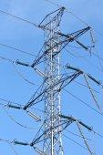 Torre de transmissão — Foto Stock
