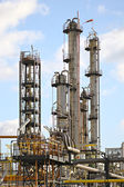 Chemical production plant — Stock Photo