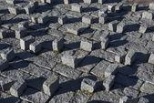 Granite stone garden — Stock Photo