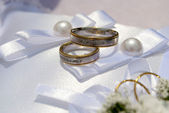 Wedding rings — Foto de Stock