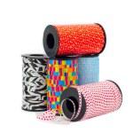 Curling ribbon bobbins — Stock Photo #66145719