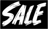 Retro Sale — Stock Vector
