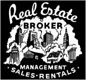 Real Estate Broker — Stock Vector