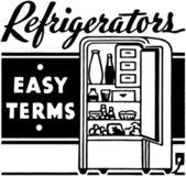 Refrigerators — Stock Vector