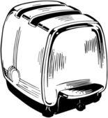 Grille-pain électrique — Vecteur