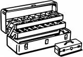 Tackle Box — Stock Vector
