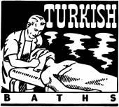 Bagni turchi — Vettoriale Stock