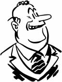 Funny Ernie — Stock Vector