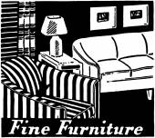 Fine Furniture — Stock Vector