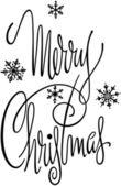 Merry Christmas Banner — Stockvector