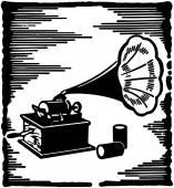 Phonograph — Stock Vector