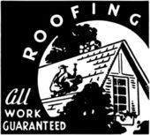 Roofing — Stock Vector