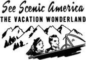 See Scenic America — Stock Vector