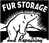 Fur Storage — Stock Vector