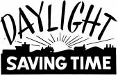 Daylight Saving Time — Wektor stockowy