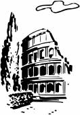 Roman Coliseum — Stock Vector