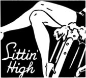 Sittin' High — Stock Vector
