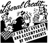 Liberal Credit — Stock Vector